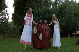 Norske og Rwandiske gudinner